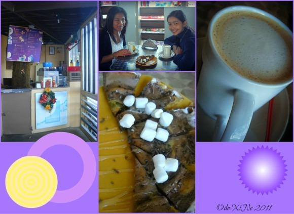 Half Moon Asian Cafe coffee and bibingcrisp