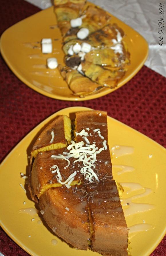 Zenz Restaurant dessert - bibingcrisp and bibingcrepe from Half Moon Asian Cafe