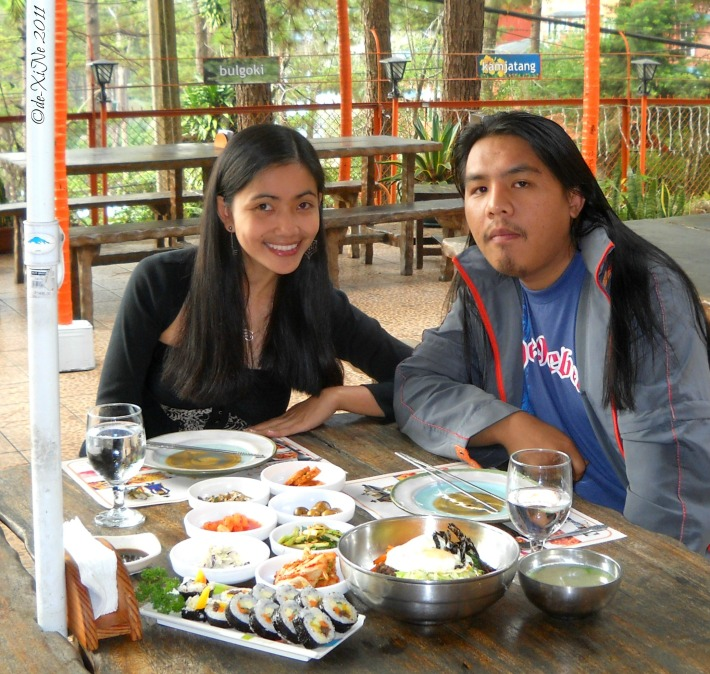 Korean Palace al fresco dining