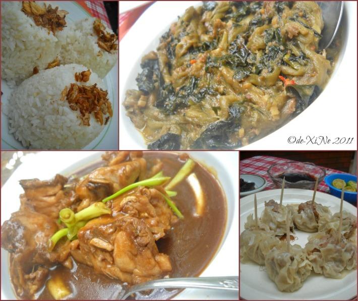 Villa La Maja lunch spread