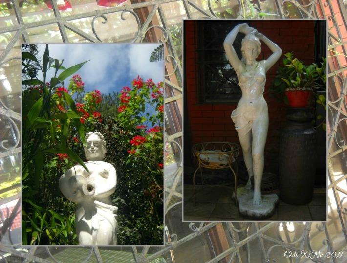 Villa La Maja statues