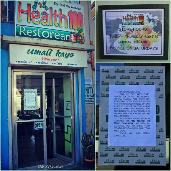 Health 100 facade