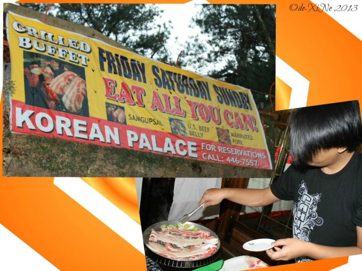 Korean Palace eat all you can weekends