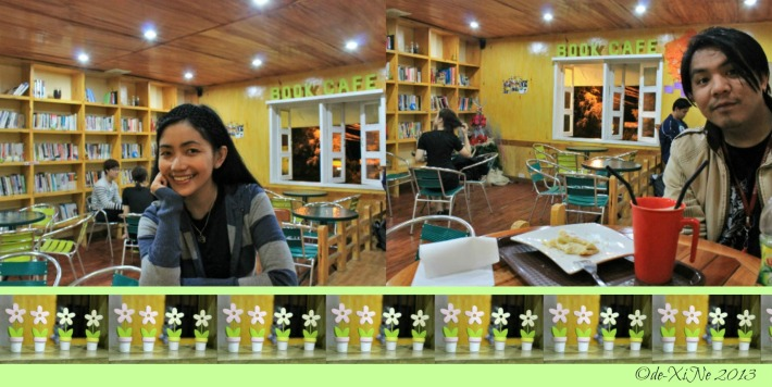 Xine and Race at Under the Tree Book Cafe