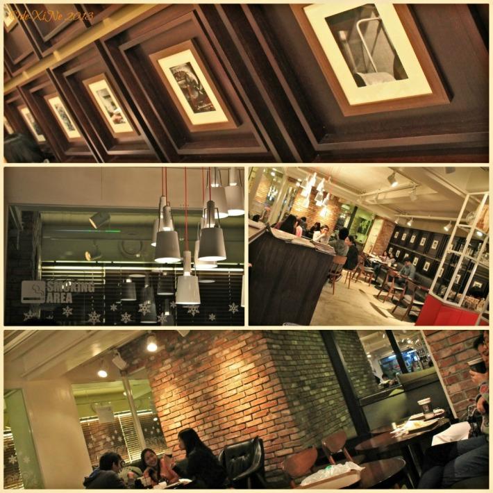 Cafe Lusso scene