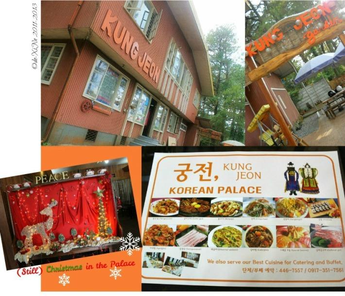 The Korean Palace scene