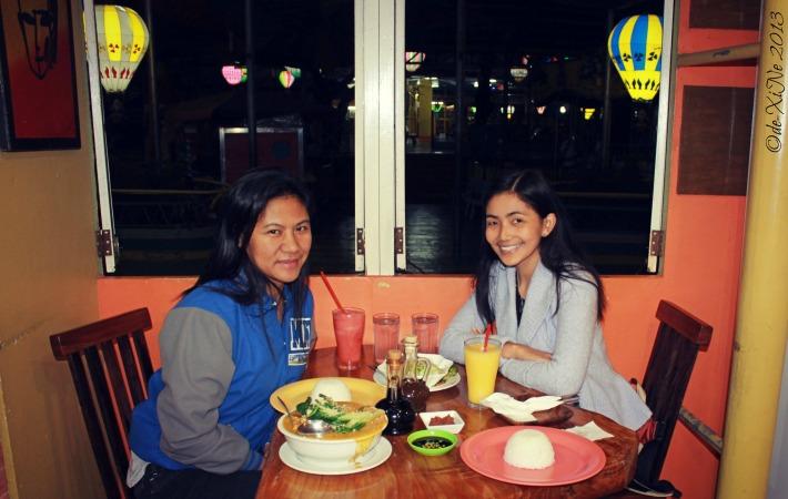 Dining at Beggang Resto Grill
