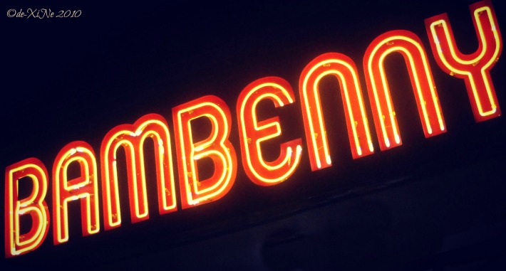 Bambenny sign (Marcos Highway)