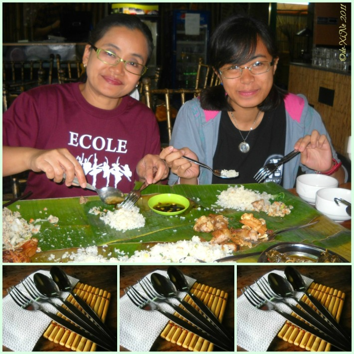 Kalapaw 'formal' boodle fight haha
