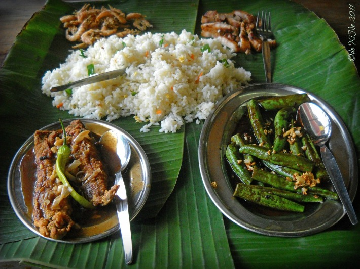 Kalapaw boodle fight spread good for two