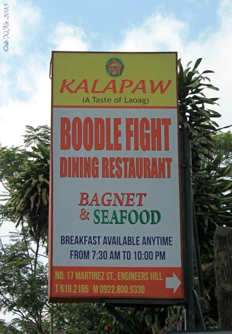 Kalapaw sign
