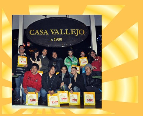 Sun Cell-Baguio Bloggers Party at Hill Station at Casa Vallejo