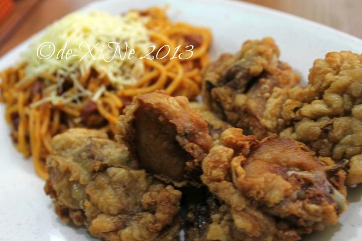 Tea House fried chicken