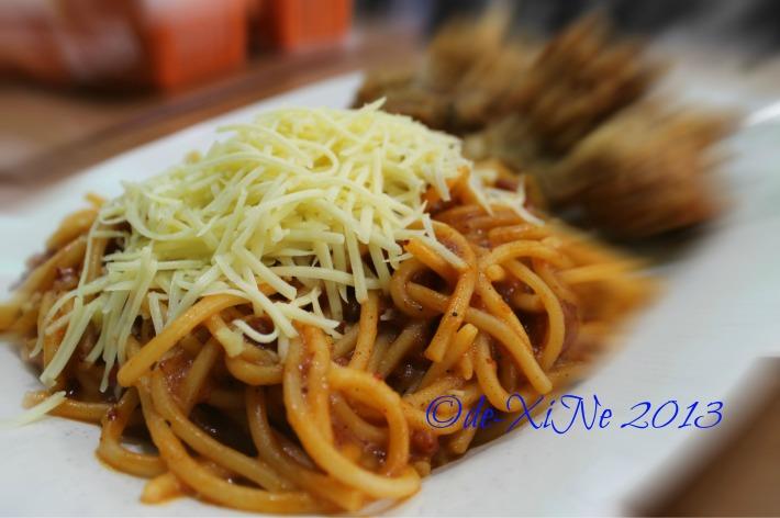 Tea House spaghetti