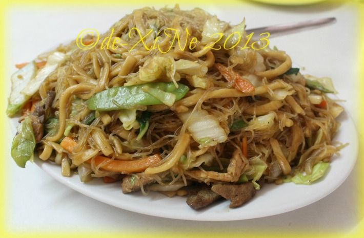 Sunshine Lunch pancit