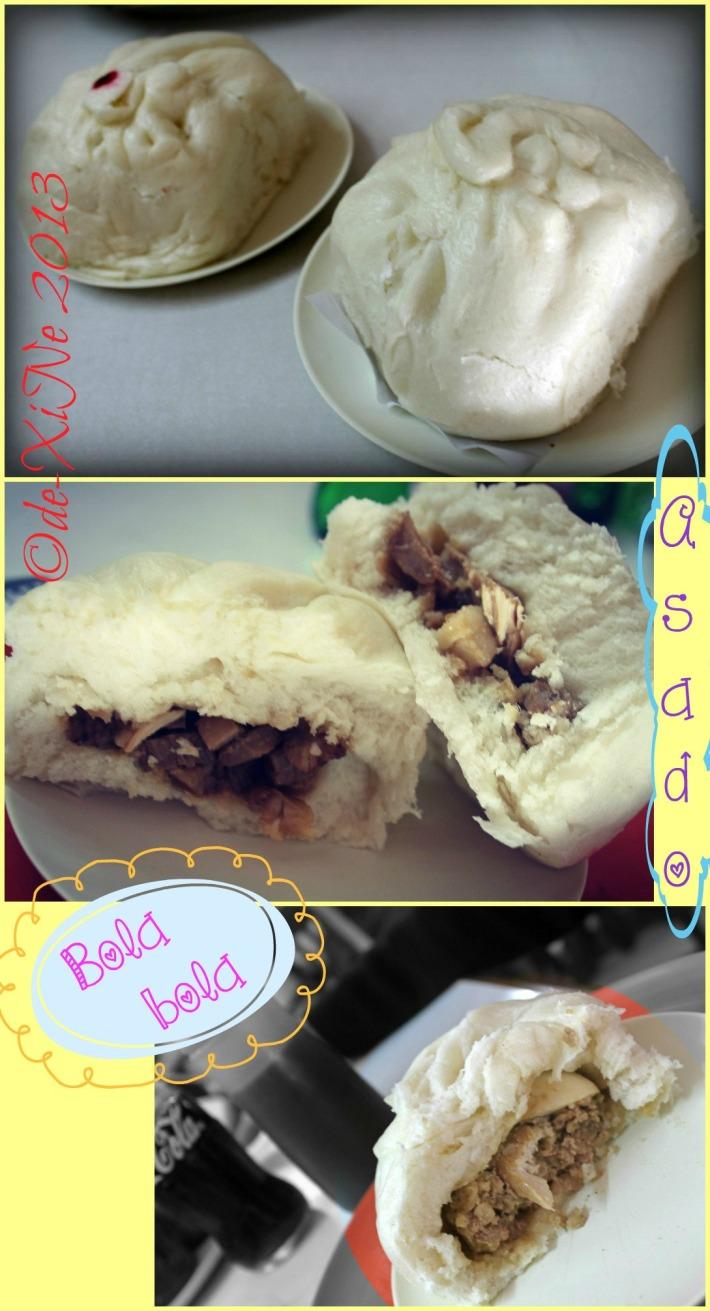 Sunshine Lunch siopao (asado and bola-bola)