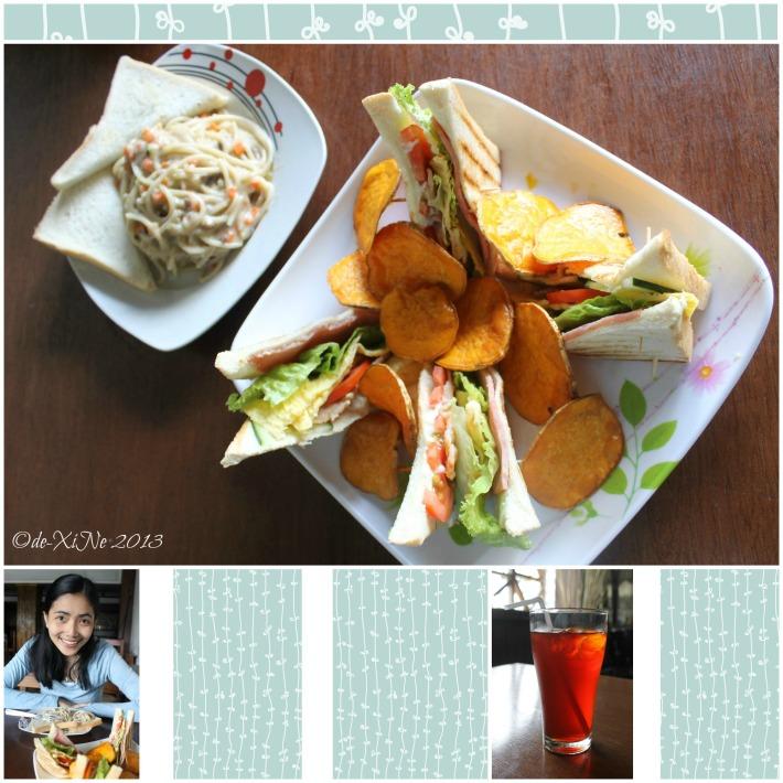 breakfast and snacks at Kikan Restobar