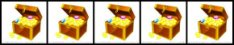 5 treasure chests