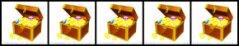 5 treasure chests