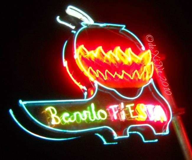 Barrio Fiesta signage