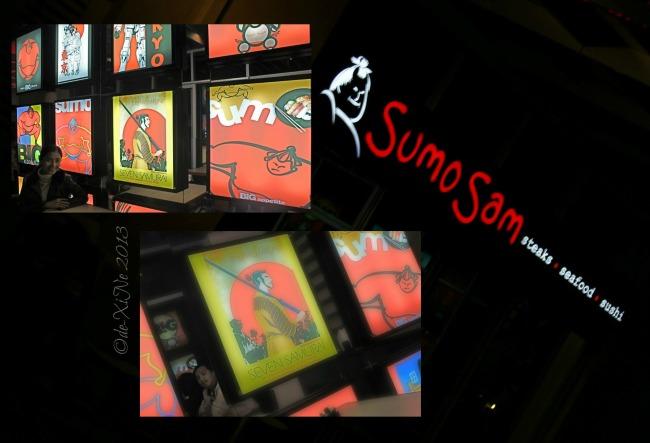 Sumo Sam night scene