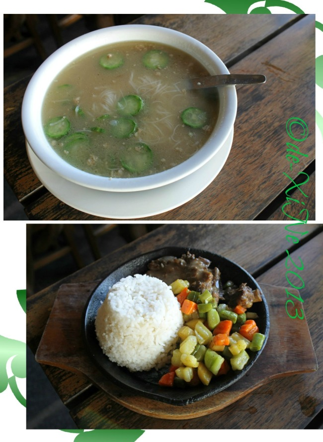 Ebai's Cafe and Pastry soup and tenderloin