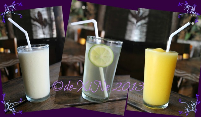 Ebai's Cafe and Pastry our drinks