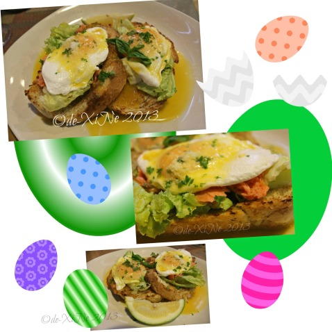 Green Pepper Gourmet Stop eggs benedict