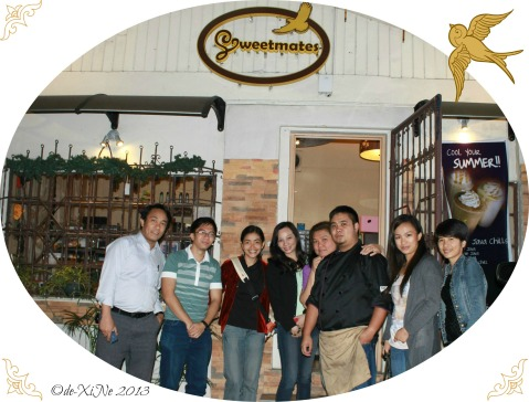 Baguio Bloggers and the owner(s) of Sweetmates