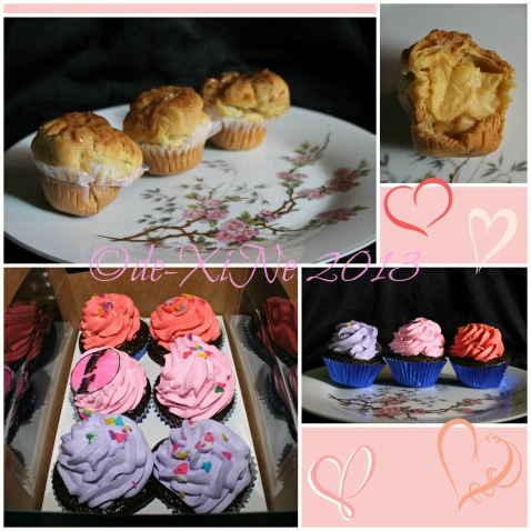 Sweetmates cupcakes and cream puffs unboxed