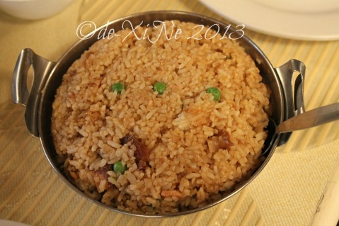 Barrio Fiesta adobo rice