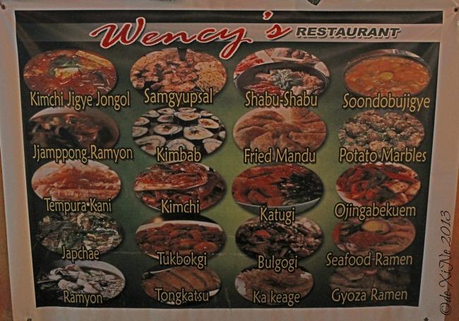 Wency's Restaurant sneak peak menu