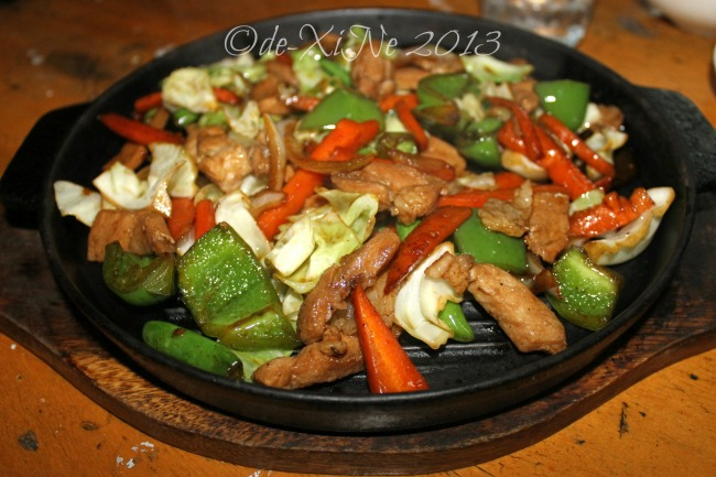 Wency's Restaurant pork teepanyaki
