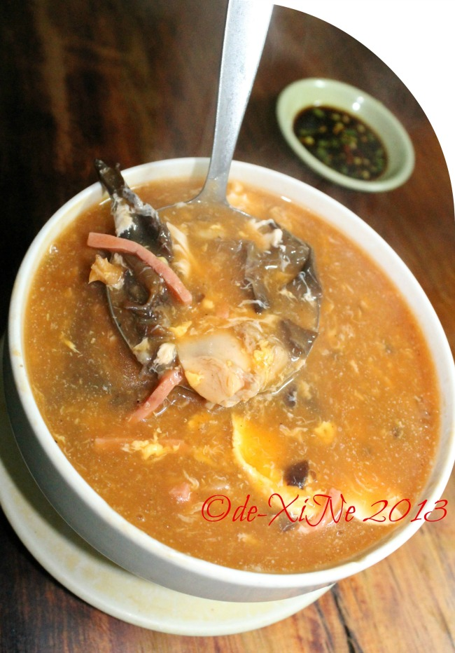 Axes Cafe and Panciteria shantong soup