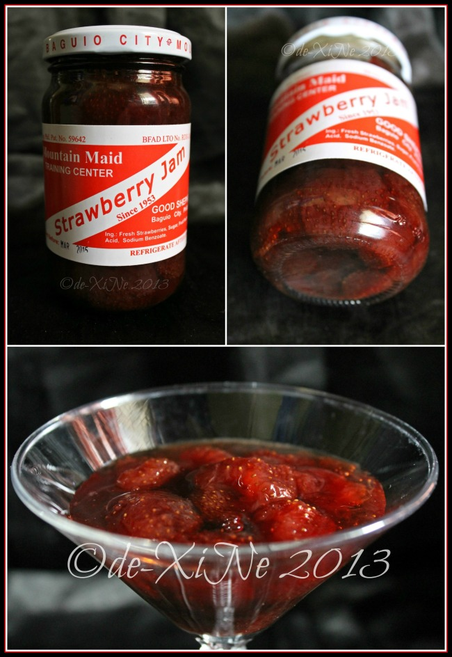Good Shepherd strawberry jam