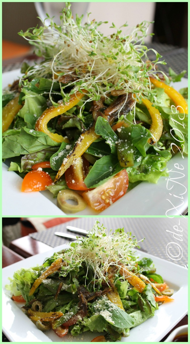 C Boutique Hotel highlands fresh salad