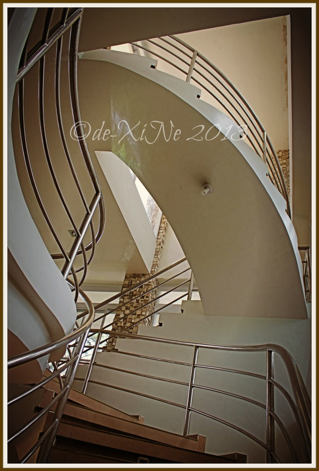 Jack's Grand View Hotel staircase
