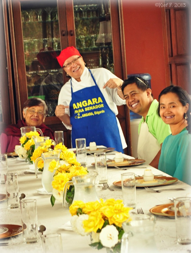 Mama's Table endorses Angara for Senate