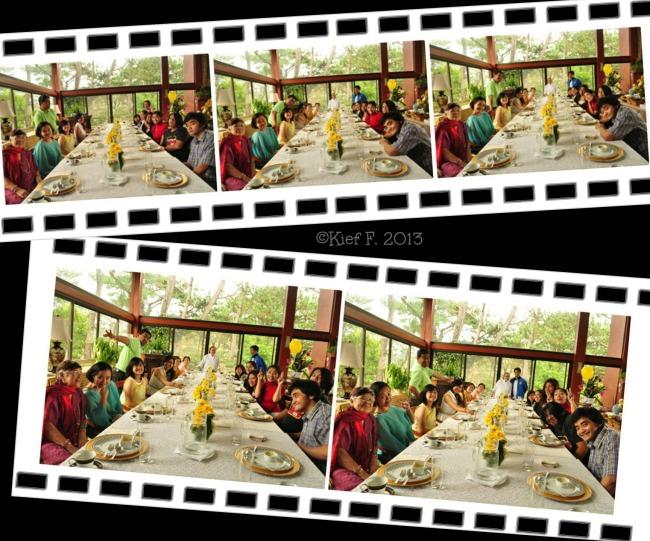 group photo at Mama's Table