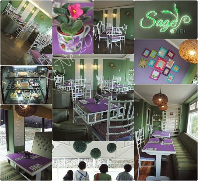 Sage Restaurant scene