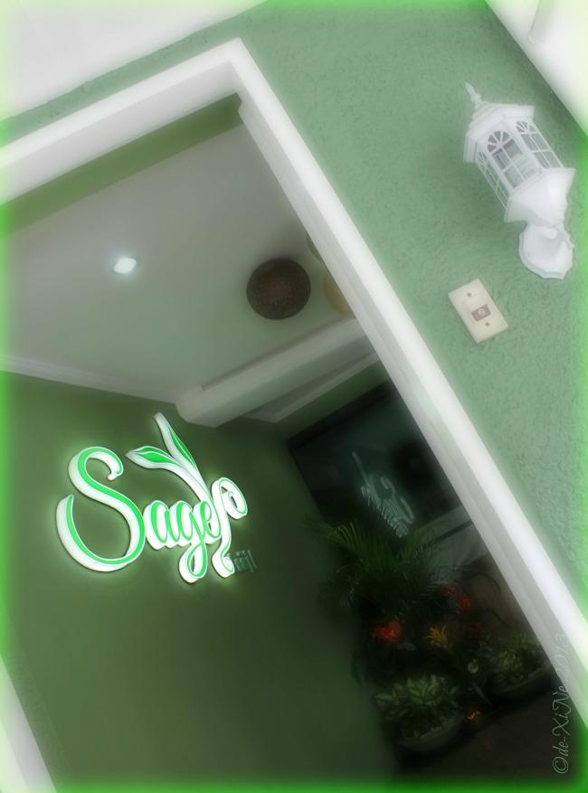entrance to Sage Restaurant
