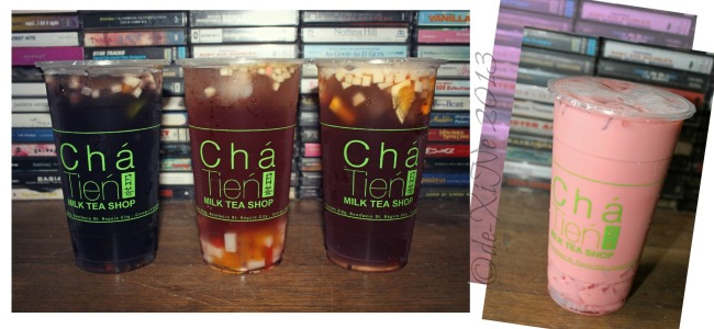 Cha Tien Milk Tea Shop new tea mixes
