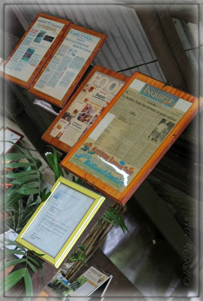newspaper clippings on Tabligan Kambingan sa Scout Barrio