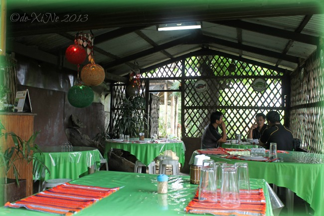 another section of the dining area at Tabligan Kambingan sa Scout Barrio