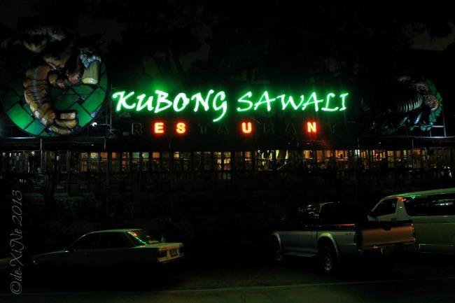 Kubong Sawali restaurant facade