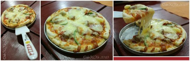 Casa Pizzeria/De Leon Pizza supreme pizza