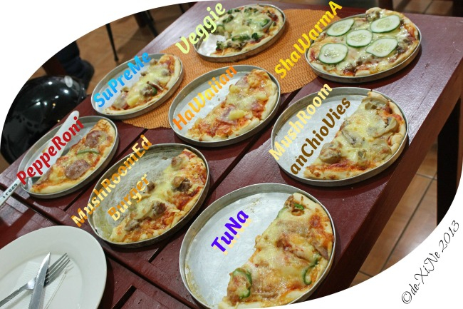 every pizza at Casa Pizzeria/De Leon Pizza save for the chicken barbecue