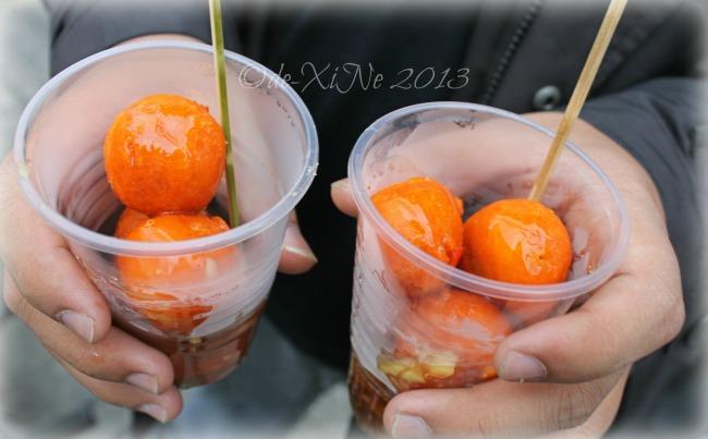 Bonifacio Street Baguio street food (tokneneng)