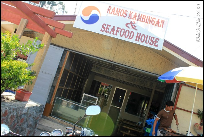 Ramos Kambingan and Seafood House Slaughter Compound store facade