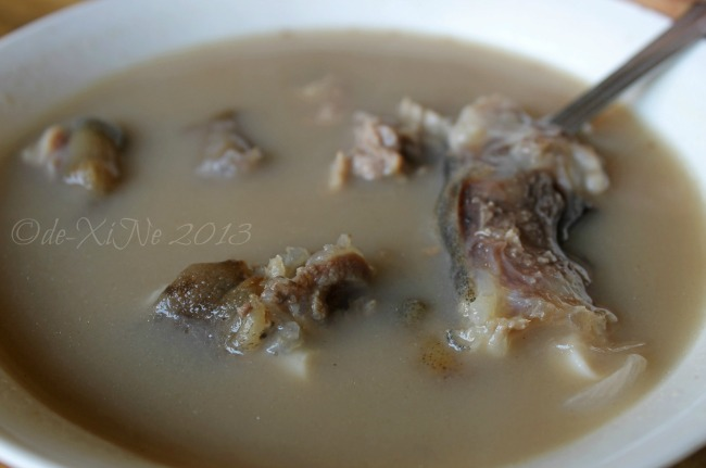 Ramos Kambingan and Seafood House Slaughter Compound sinampalukang kambing, goat in tamarind broth